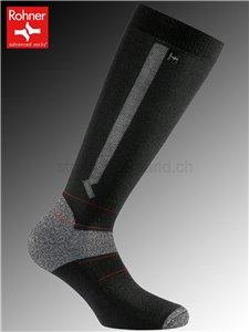 Touring Light chaussettes de ski Rohner - 009 noir