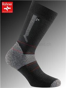 Nordic Light chaussettes de ski Rohner - 009 noir