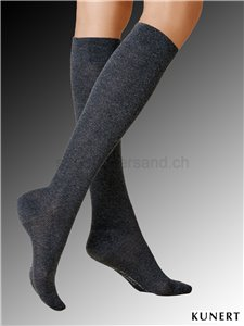 FLY & CARE chaussettes de compression - 405 anthracite mel.