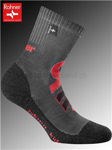 chaussettes Rohner HIKING KIDS - 135 anthracite