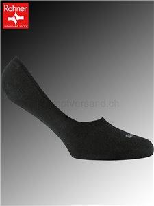 SNEAKER LOW chaussette courte Rohner - 009 noir