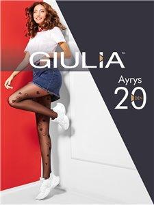 AYRYS 20 - collant Giulia avec coeurs