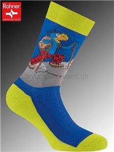 GLOBI TREKKING chaussettes de randonnée pour enfants - 228 limette