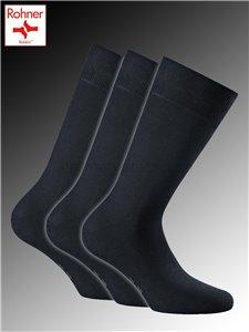 Cotton II chaussettes Rohner - 010 marine