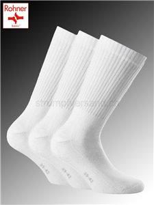 Basic SPORT chaussettes Rohner - 008 blanc