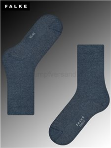 FAMILY chaussettes Falke pour femmes - 6499 navyblue