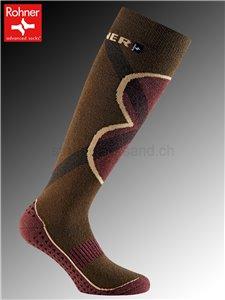 ECO JET chaussettes de sport durables de Rohner - 181 khaki