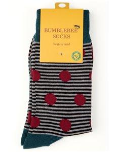 RED BERRIES - chaussette Bumblebee pour hommes et femmes