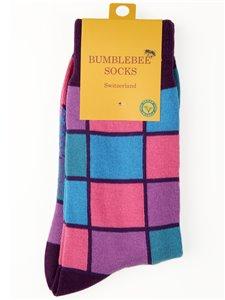 NEAT STRUCTURE - chaussettes à carreaux de Bumblebee