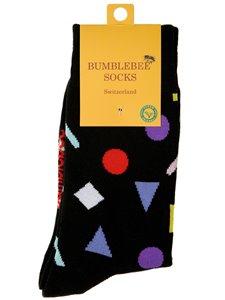 BITS AND PIECES - chaussettes à motifs géometriques de Bumblebee