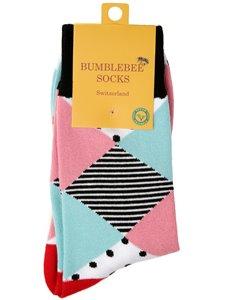ADD PASTEL - chaussettes à losanges de Bumblebee