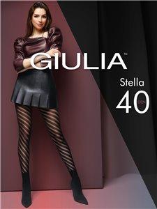 STELLA - Collants Giulia avec motif en spirale