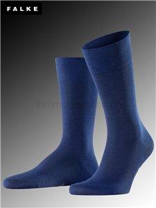 Sensitive Intercontinental chaussettes Falke pour hommes - 6418 deep blue