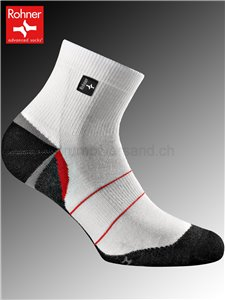 chaussettes Rohner SILVER RUNNER - 008 blanc