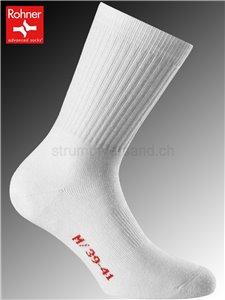chaussettes Rohner CENTER COURT - 008 blanc