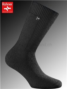 chaussettes Rohner ARMY BOOTS - 009 noir