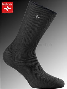 chaussettes Rohner PLATIN WOMEN - 009 noir
