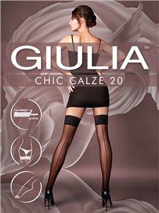 Chic 20 - bas autofixants couture