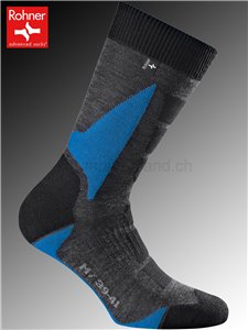 chaussettes Rohner BACK COUNTRY - 304 bleu