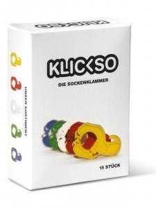 Pinces à chaussettes Klickso
