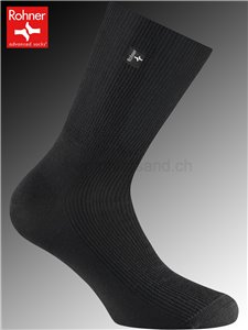 chaussettes diabétiques ROHNER - 009 noir