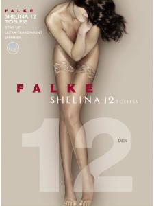 SHELINA 12 TOELESS - bas jarretières