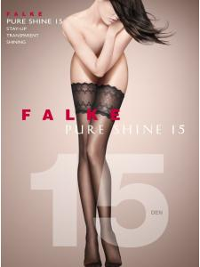 Falke PURE SHINE 15 - Bas autofixants
