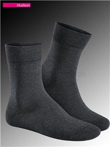 RELAX COTTON chaussettes en coton Hudson - 550 graumeliert